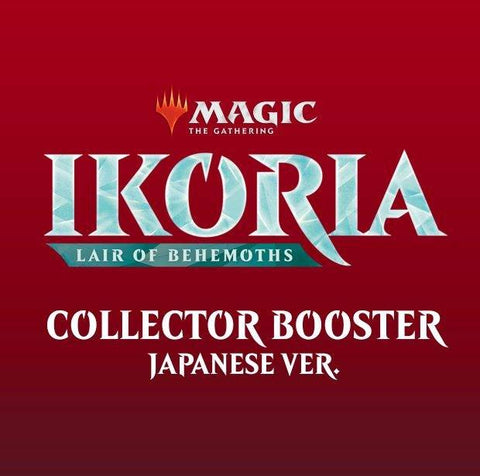 Ikoria: Lair of Behemoths Japanese Collectors Booster Pre Order