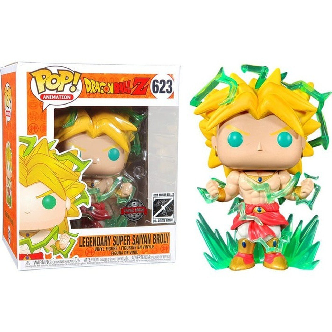 "Dragon Ball Z - Legendary Super Saiyan Broly 6"" Pop! 623 