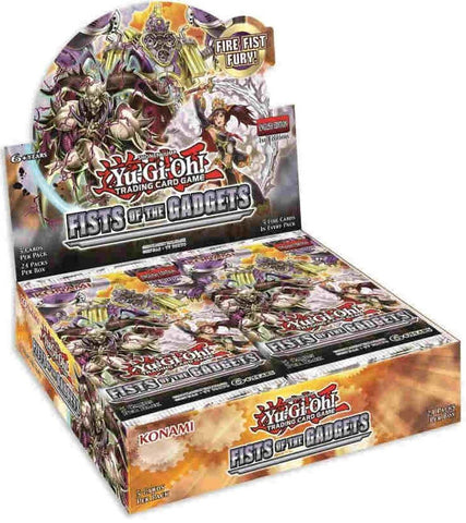 Yu-Gi-Oh! Fists of the Gadgets Booster Box *PRE ORDER*