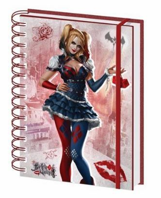 Batman Arkham Knight: Harley Quinn A5 Notebook | Card Merchant NZ