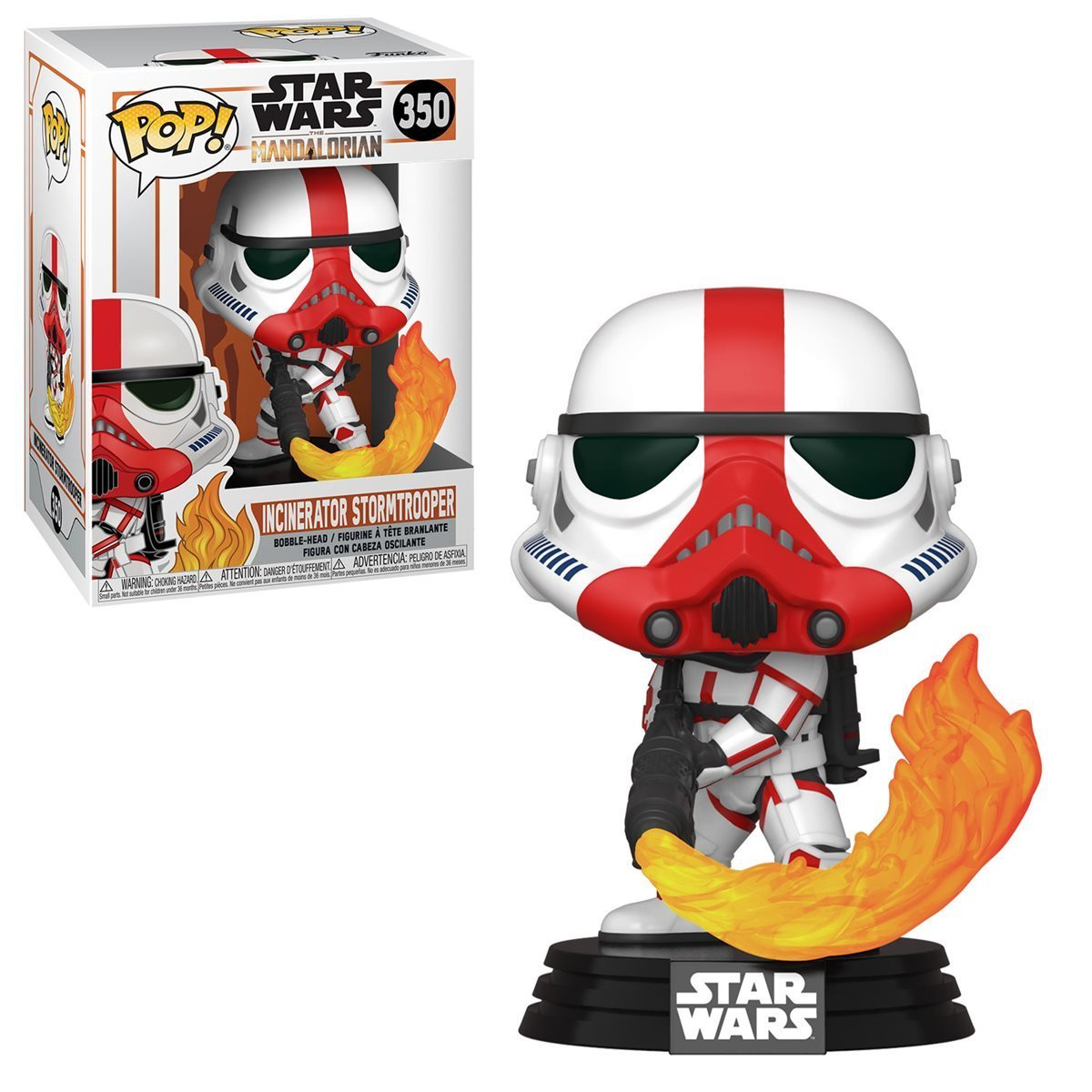 Star Wars: Mandalorian - Incinerator Storm Trooper Pop! 350 | Card Merchant NZ