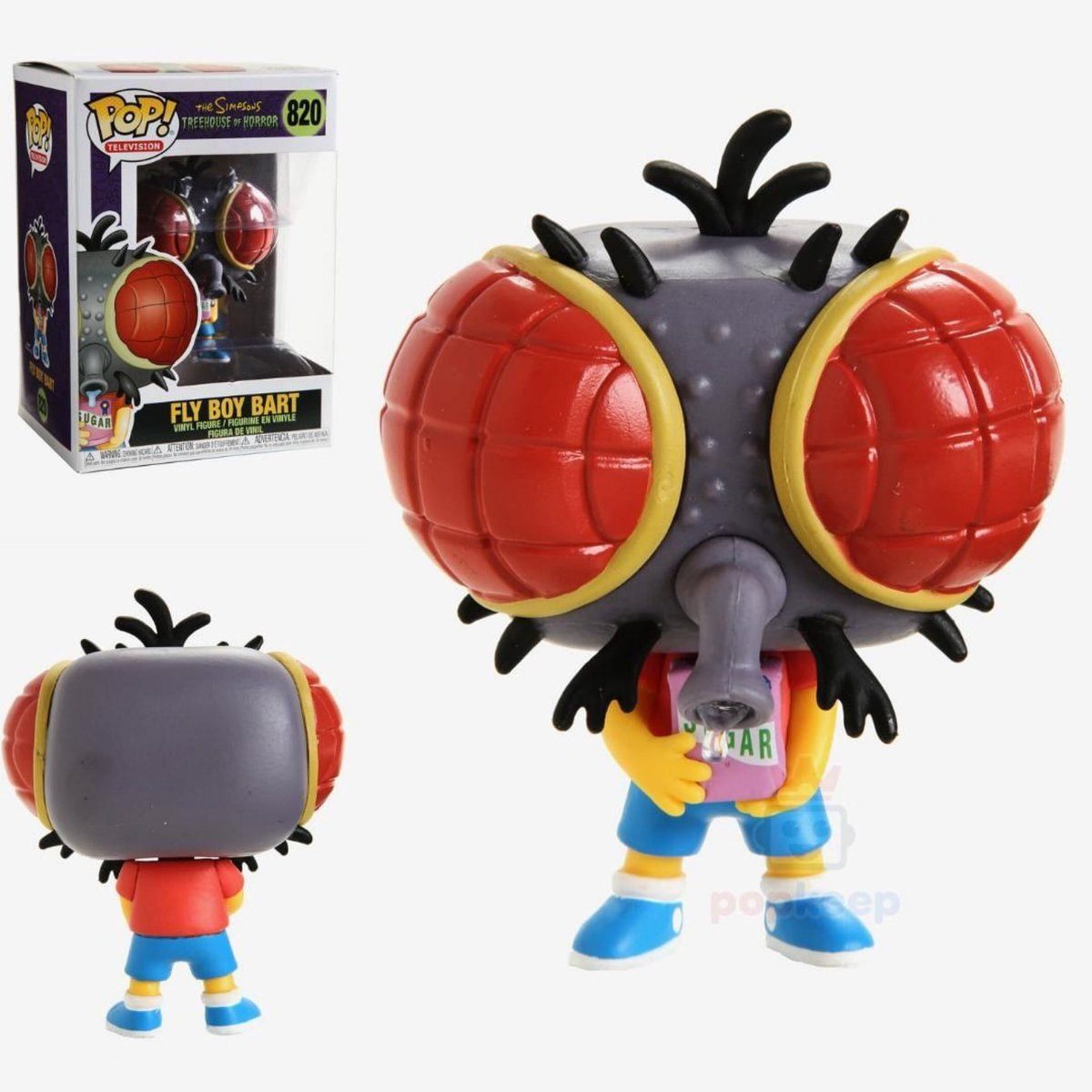 The Simpsons - Fly Boy Bart Pop! 820 | Card Merchant NZ