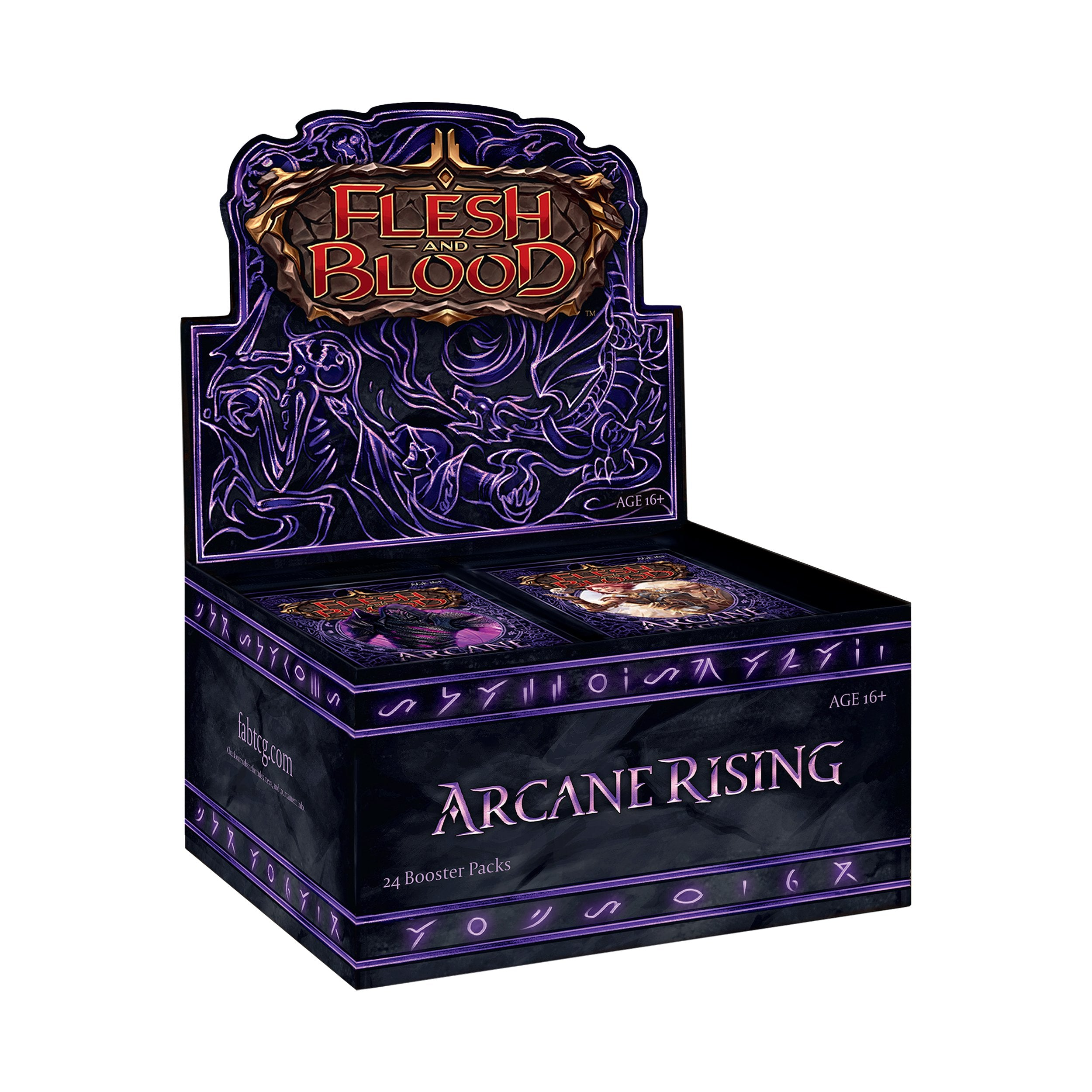 *Pre Order* Flesh and Blood: Arcane Rising Booster Box (Unlimited) | Card Merchant NZ
