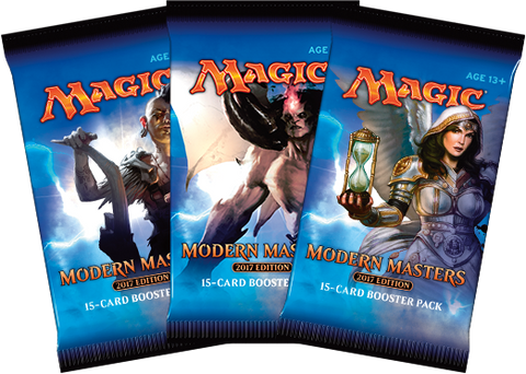 6x Modern Masters 2017 Booster Packs