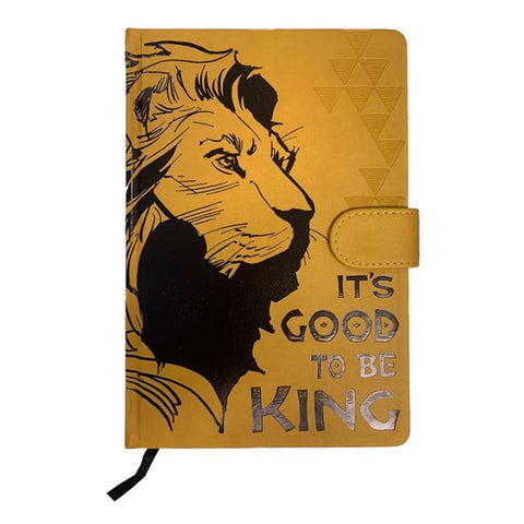 Lion King: Good to be King Premium A5 Notebook
