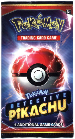 Detective Pikachu Booster Pack