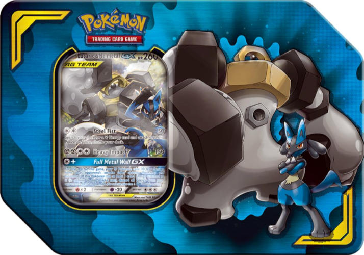 Power Partnership Tin - Lucario & Melmetal | Card Merchant NZ