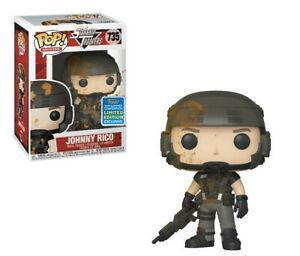 SDCC Starship Troopers - Johnny Rico Pop! 735 | Card Merchant NZ