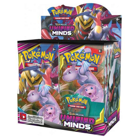 Sun & Moon Unified Minds Booster Box *PRE ORDER*
