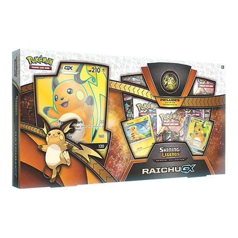 Shining Legends Raichu GX Box