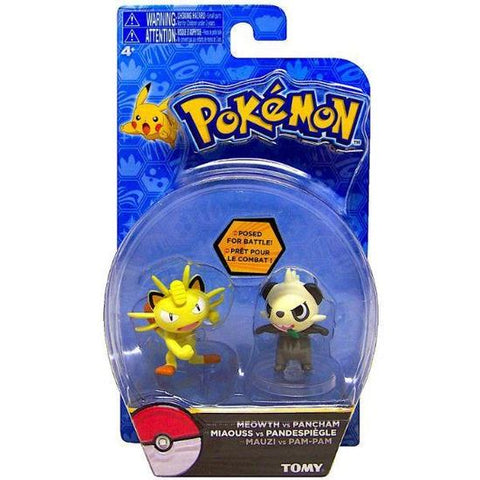 Action Pose Figures - Meowth / Pancham