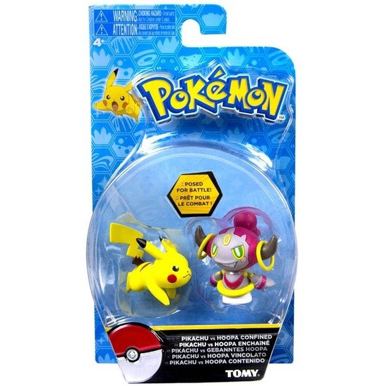 Action Pose Figures - Pikachu / Hoopa | Card Merchant NZ