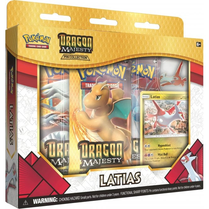 Dragons Majesty Latias Pin Collection | Card Merchant NZ