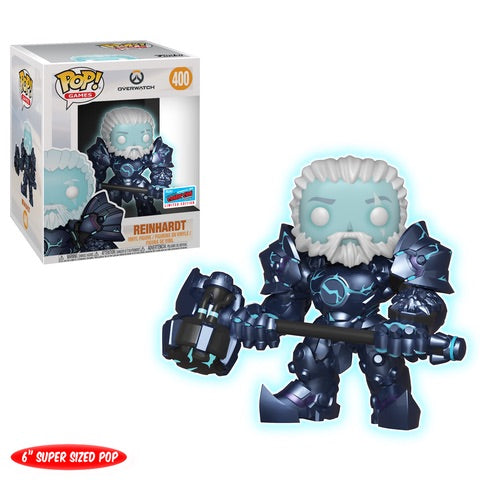 "NYCC Overwatch - Coldhardt Reinhardt 6"" Pop! 400 