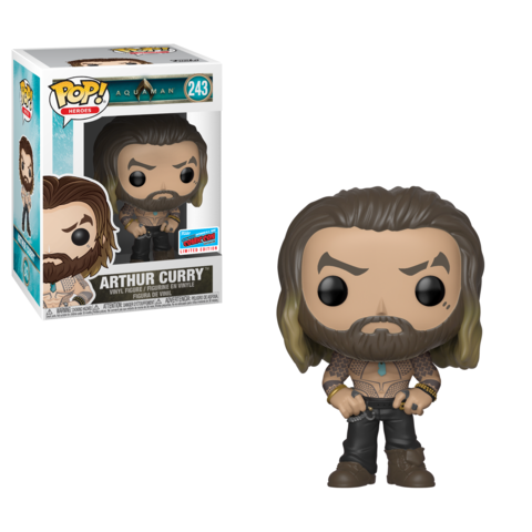 NYCC Aquaman - Arthur Curry Pop! 243 | Card Merchant NZ
