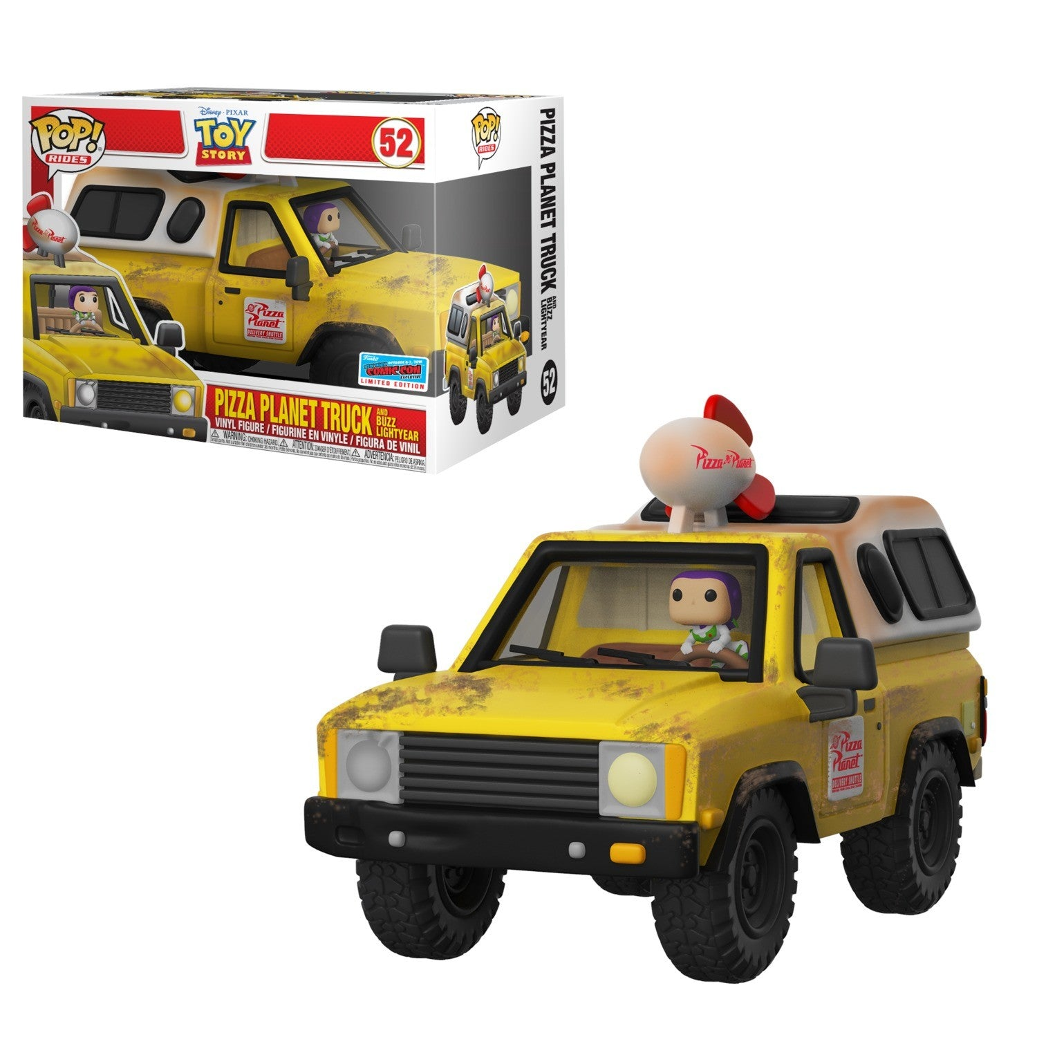 NYCC Toy Story - Pizza Planet Truck Pop! Ride 52 | Card Merchant NZ