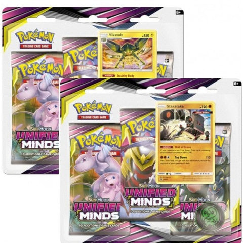 Unified Minds 3-Pack Blister