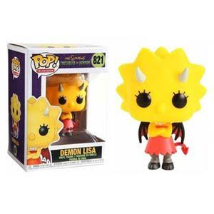 The Simpsons - Lisa as the Devil Pop! 821 | Card Merchant NZ