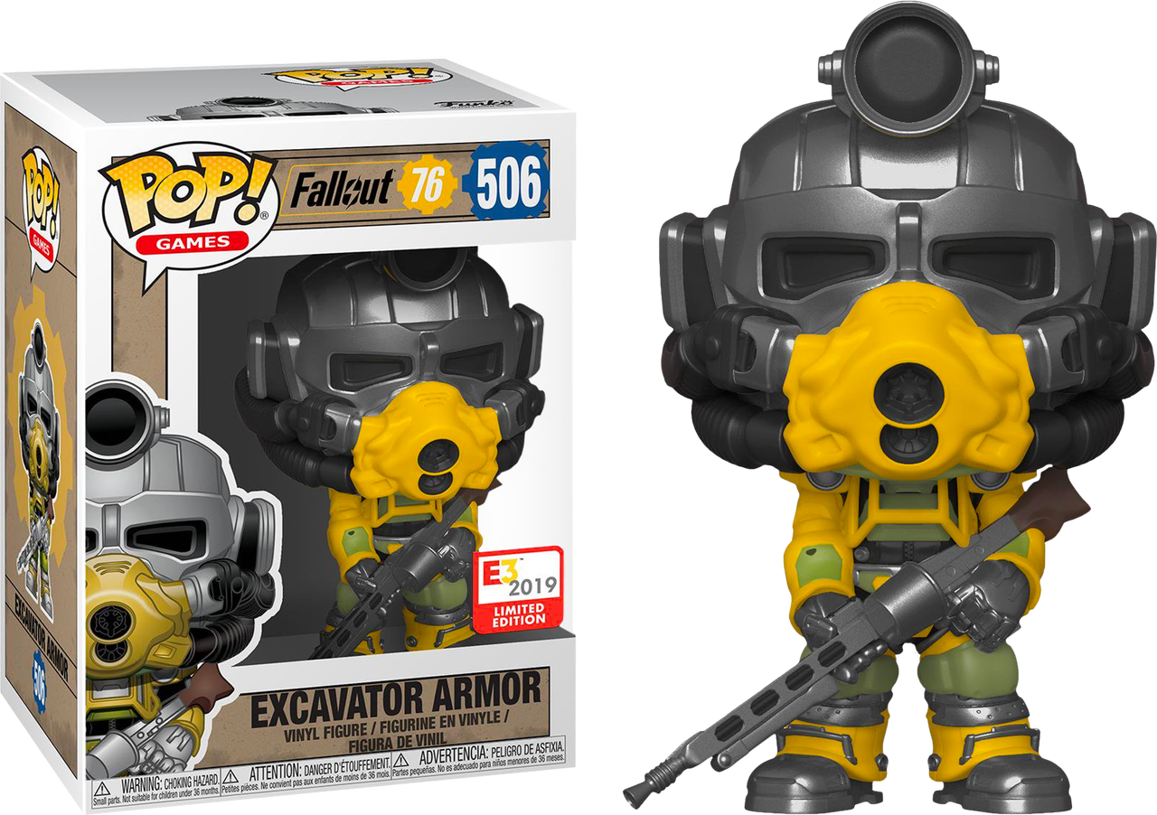 E3 Fallout 76 - Excavator Armor Pop! 506 | Card Merchant NZ