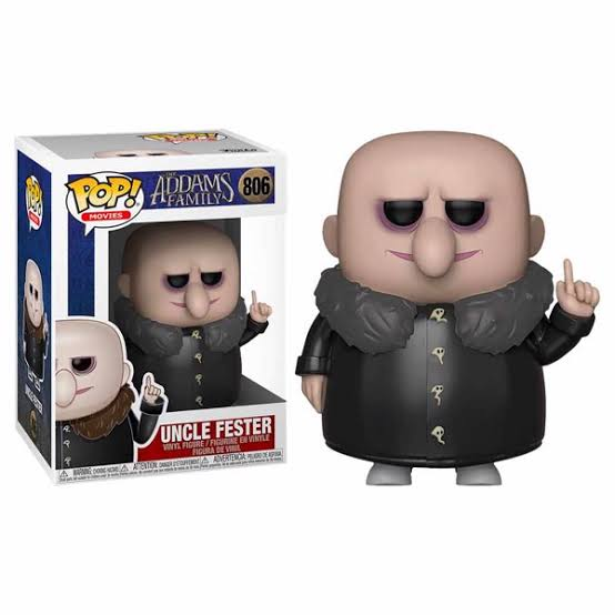 Addams Family (2019) - Uncle Fester Pop! 806 | Card Merchant NZ