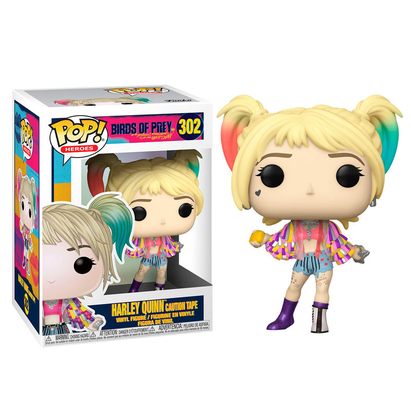 Birds of Prey - Harley Quinn Caution Tape Pop! 302 | Card Merchant NZ