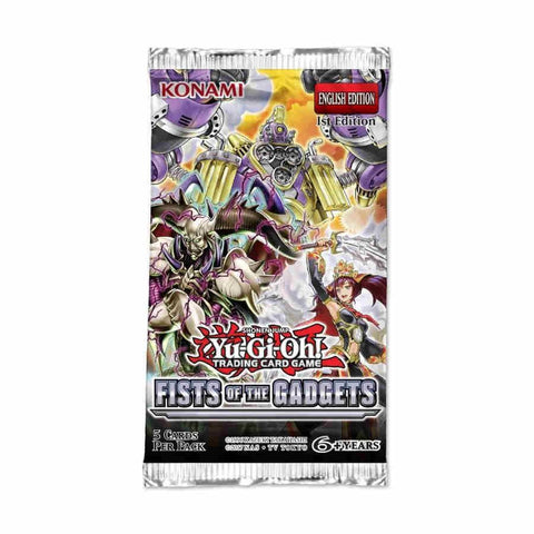 Yu-Gi-Oh! Fists of the Gadgets Booster Pack *PRE ORDER*