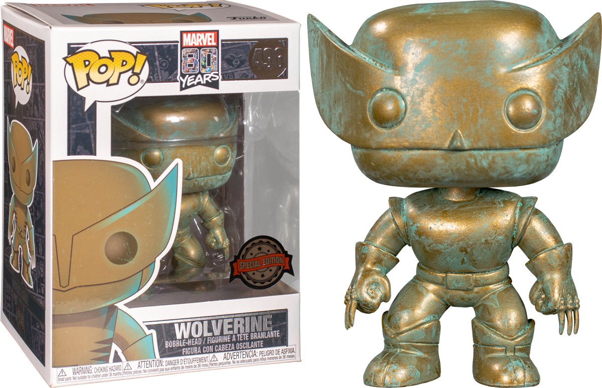 Marvel 80th Anniversary - Wolverine Pop! 496 | Card Merchant NZ