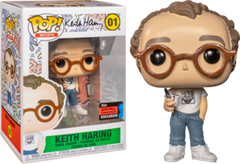 NYCC Icons - Keith Haring Pop! 01 | Card Merchant NZ