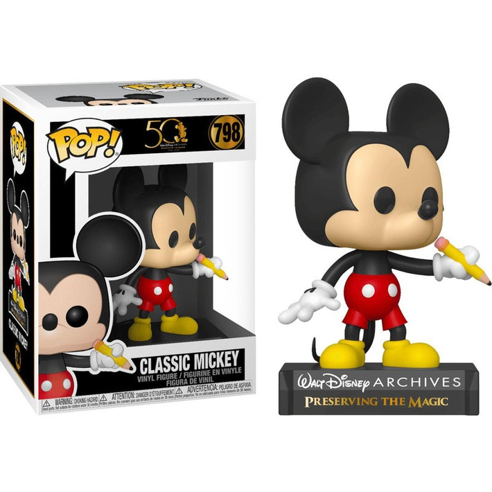 50th Anniversary - Classic Mickey Pop! 798 | Card Merchant NZ