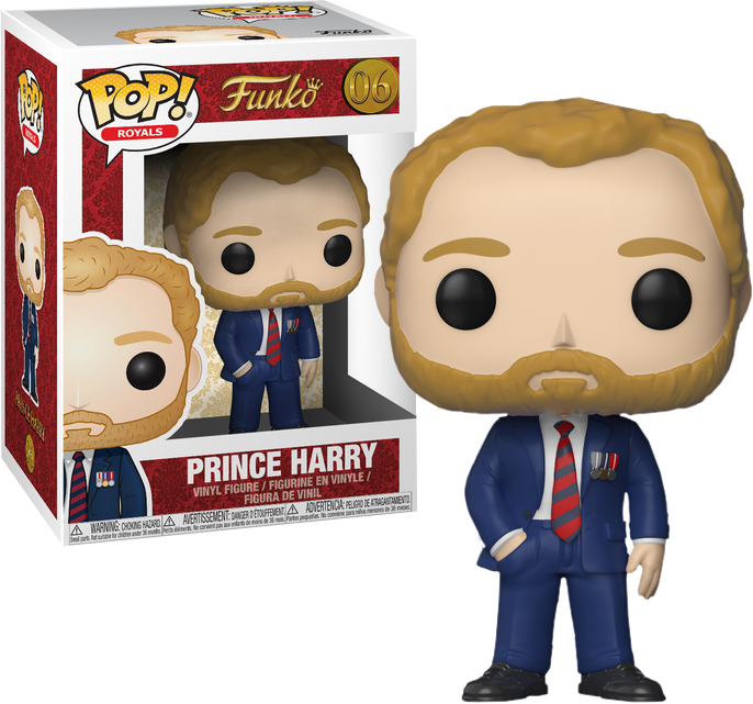 Prince Harry Pop! 06 | Card Merchant NZ