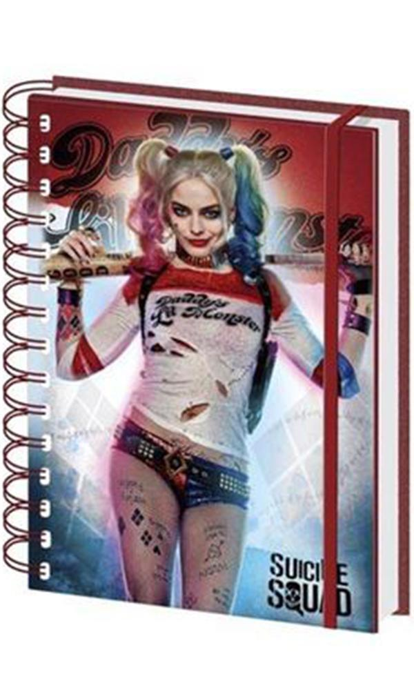 Suicide Squad: Harley Quinn A5 Notebook | Card Merchant NZ