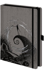 The Nightmare Before Christmas: Moonlight Madness Premium A5 Notebook | Card Merchant NZ