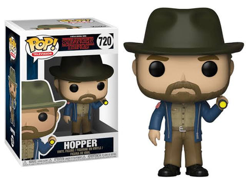 Stranger Things - Hopper (w/ Flashlight) Pop! 720