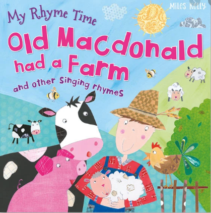 My Rhyme Time - Old MacDonald Had A Farm and other singing rhymes | Card Merchant NZ