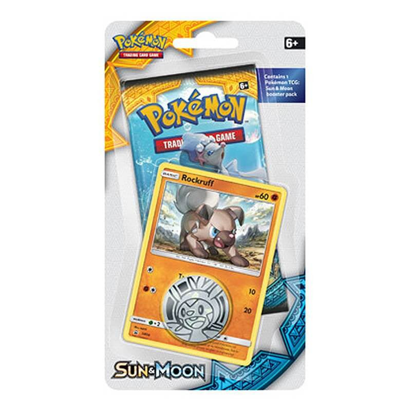Sun and Moon Blister Pack - Rockruff | Card Merchant NZ