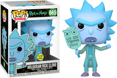 Rick and Morty - Hologram Rick (We See Through You) Pop! 665 | Card Merchant NZ