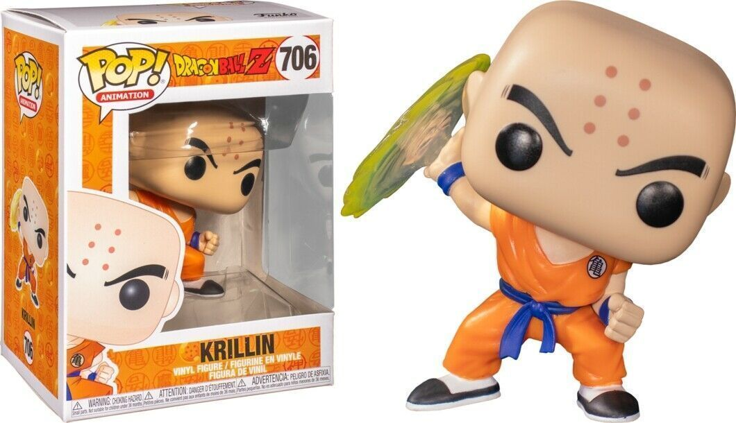 Dragon Ball Z - Krillin w/ Destructo Disc 706 | Card Merchant NZ