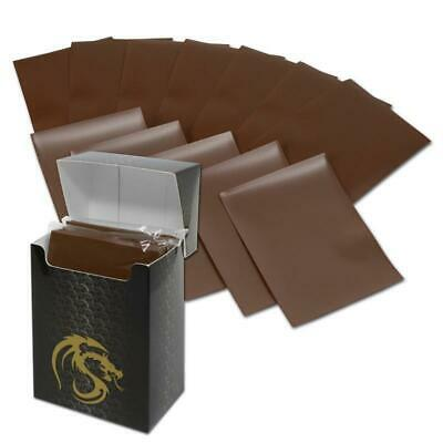 BCW Deck Guard Boxed Sleeves (80) Brown