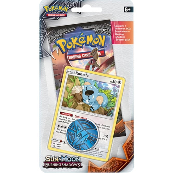 Burning Shadows 1-Pack Blister - Komala | Card Merchant NZ