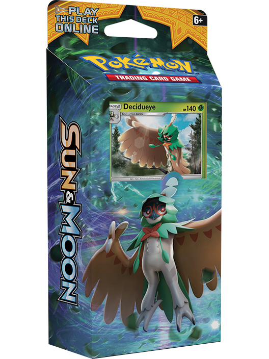 Sun & Moon Theme Deck: Forest Shadows | Card Merchant NZ