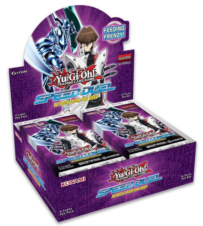 Speed Duel - Attack from the Deep Booster Box | Card Merchant NZ