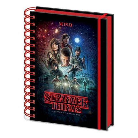 Stranger Things: One Sheet A5 Notebook