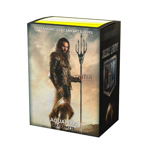 Dragonshield MATTE ART - JUSTICE LEAGUE - Aquaman | Card Merchant NZ