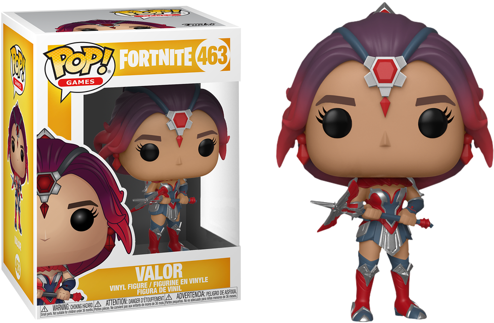 Fortnite - Valor Pop! 463 | Card Merchant NZ