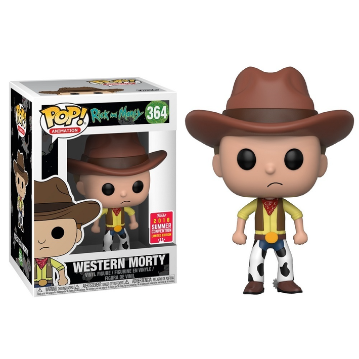 SDCC Rick & Morty - Western Morty Pop! 364 | Card Merchant NZ