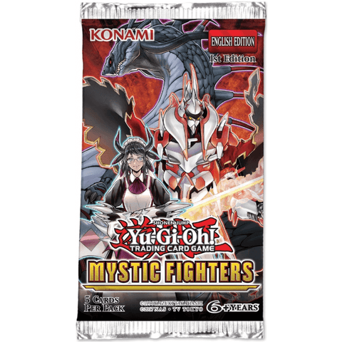 Yu-Gi-Oh! Mystic Fighters Booster Pack *PRE ORDER*