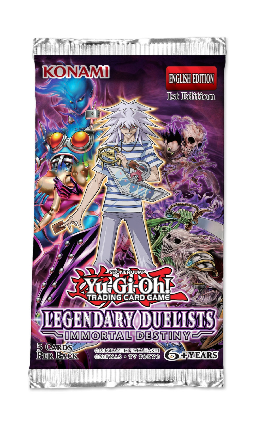 Yu-Gi-Oh! Legendary Duelists: Immortal Destiny Booster Pack | Card Merchant NZ