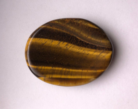 *Worry Stone* Tiger's Eye