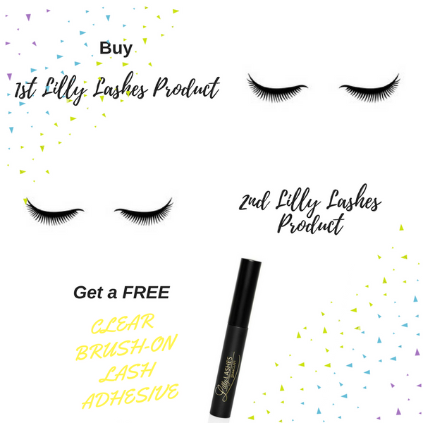 Lilly Lashes - Get FREE Lash Adhesive with any 2 Lilly Lashes Products