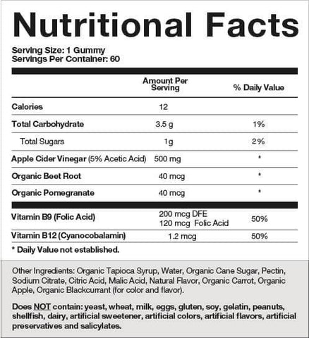 GOLI NUTRITION APPLE CIDER VINEGAR GUMMIES - Count On Us Canada